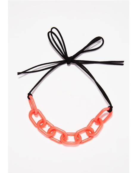 Linked In Choker