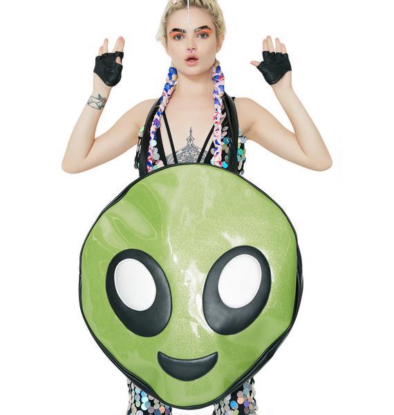 Current Mood Happy Alien Mega Tote
