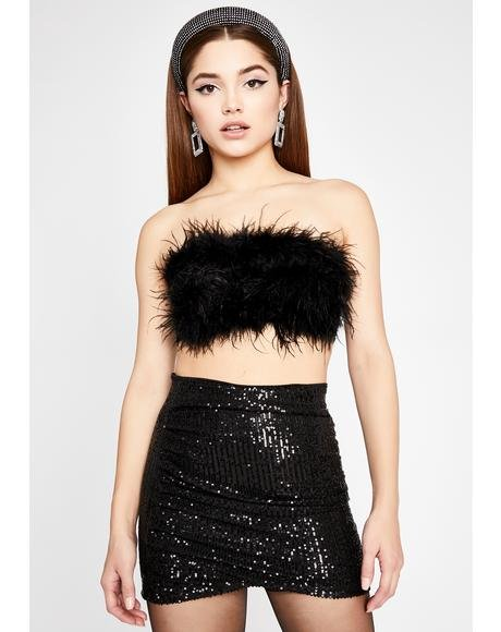 Luna Lavishly Luxe Sequin Skirt