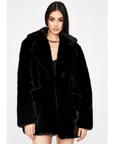 Flossy N' Frosty Faux Fur Jacket