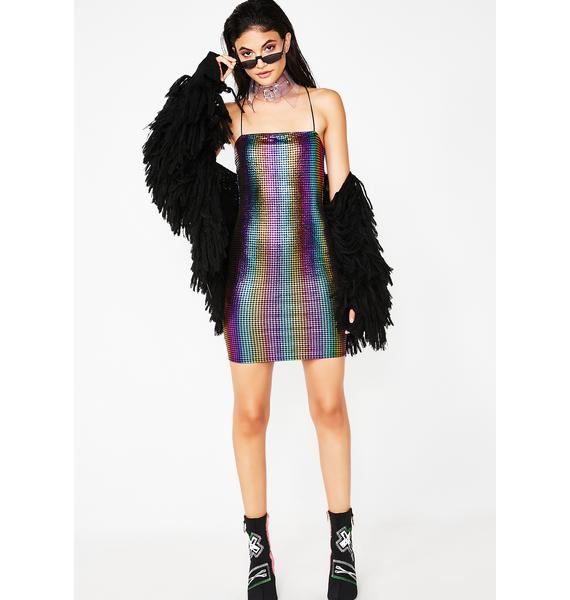 Party Has Arrived Rainbow Dress