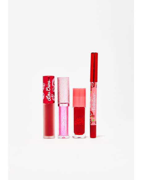 Red Velvet Lip Holiday Set