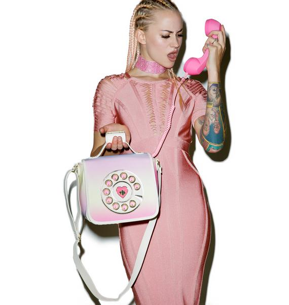 Betsey Johnson Hotline Crossbody Bag
