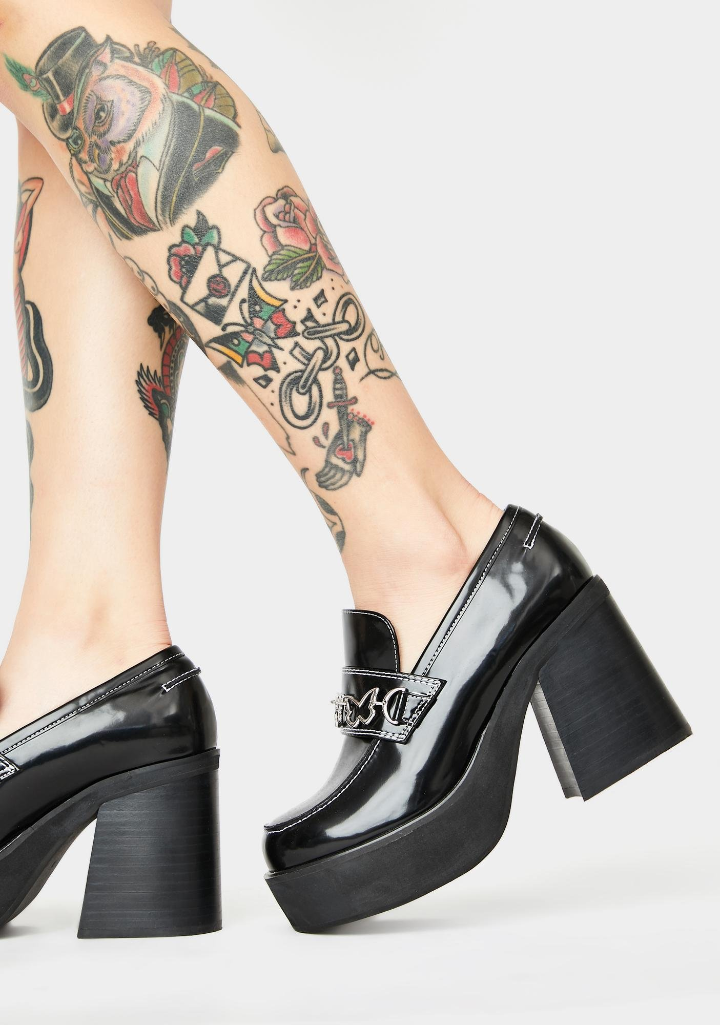 dELiA*s by Dolls Kill There She Goes Platform Loafers