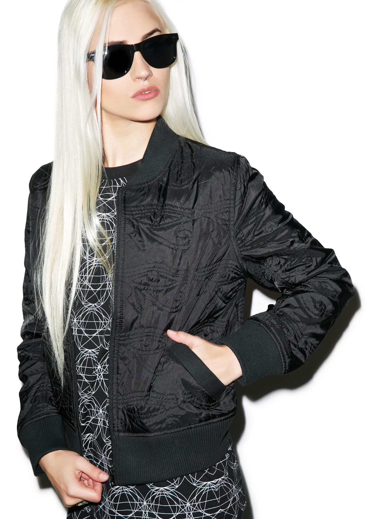 Black Scale Eye Of Ra Jacket