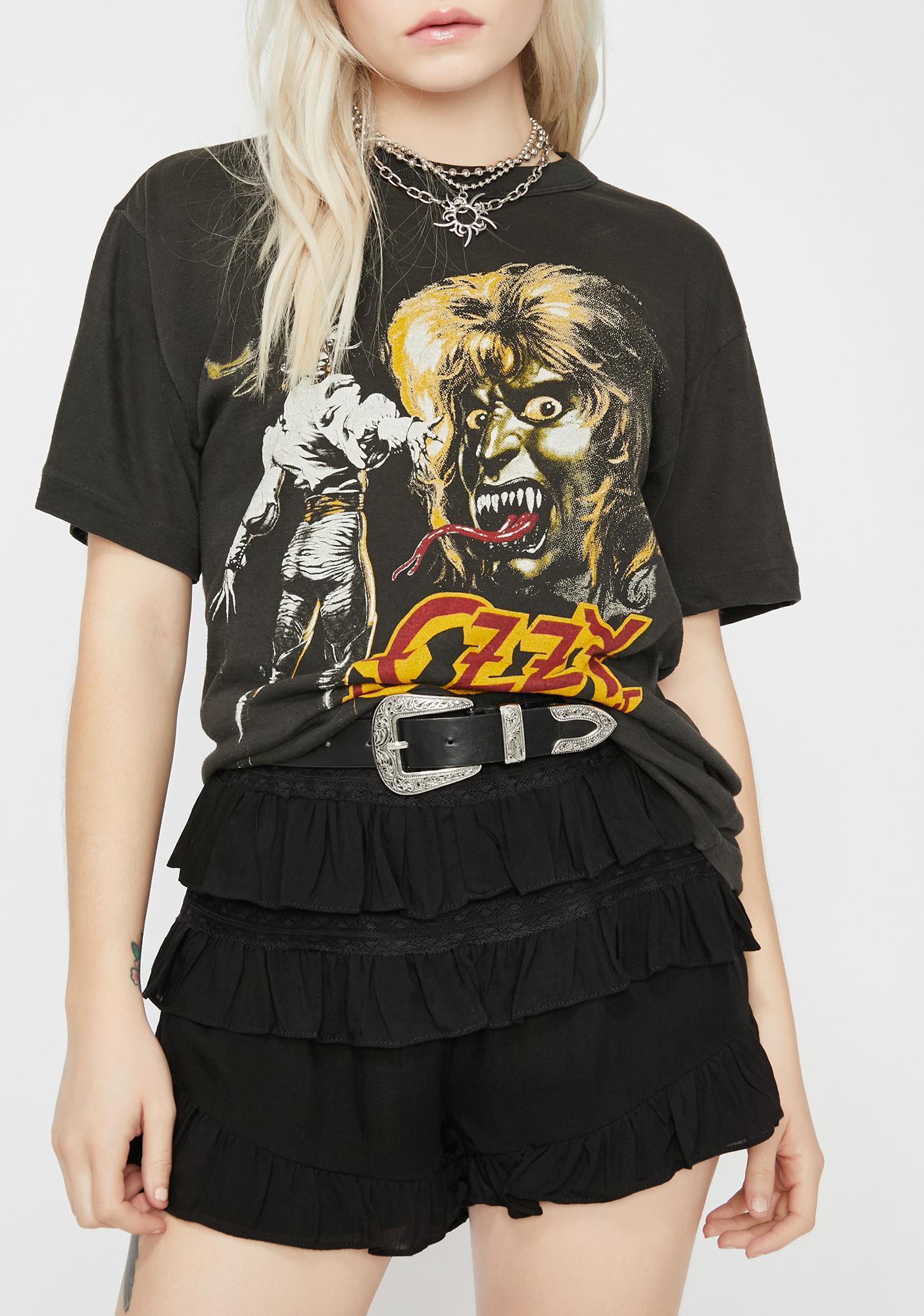 Soul Rock Ruffled Shorts