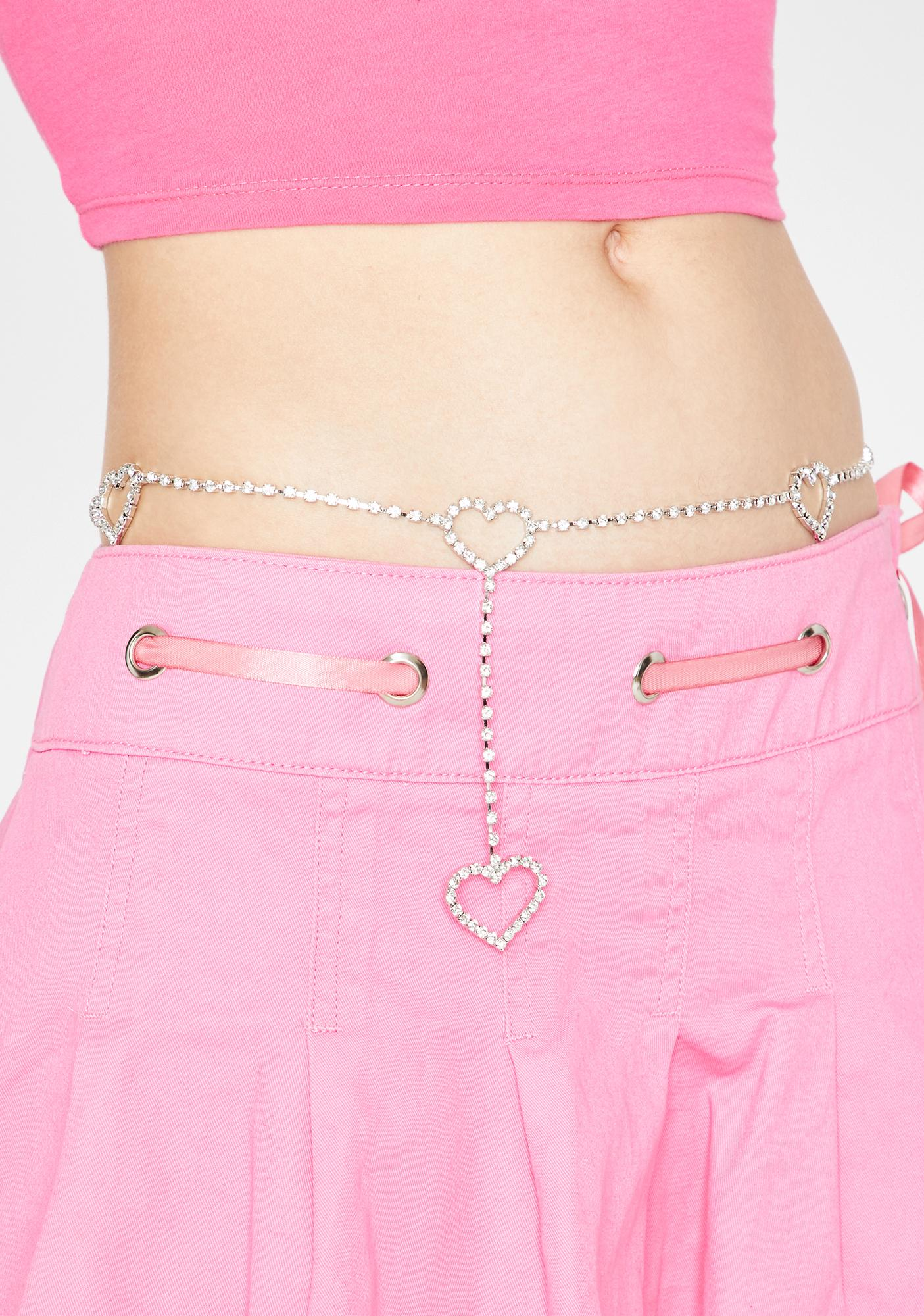 Lil Heartbreaker Chain Belt