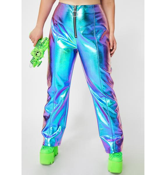 Club Exx Atomic Icy Invaders Metallic Pants