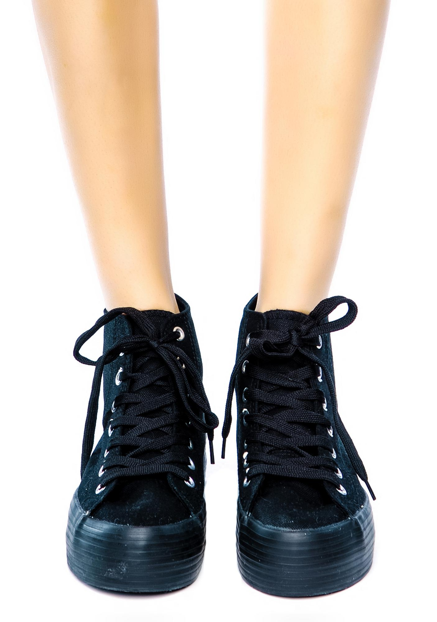 Vero London Platform Sneakers