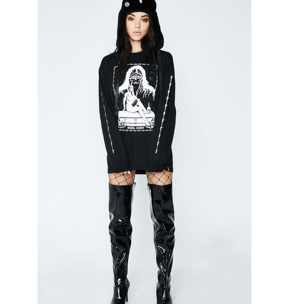 Rebel8 Death Maiden Long Sleeve Tee
