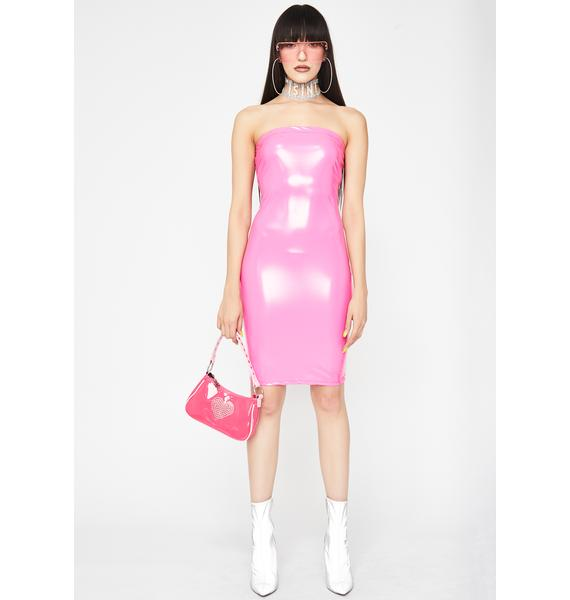 Candy Loco Nitez Vinyl Dress
