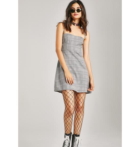 Storytime Plaid Dress