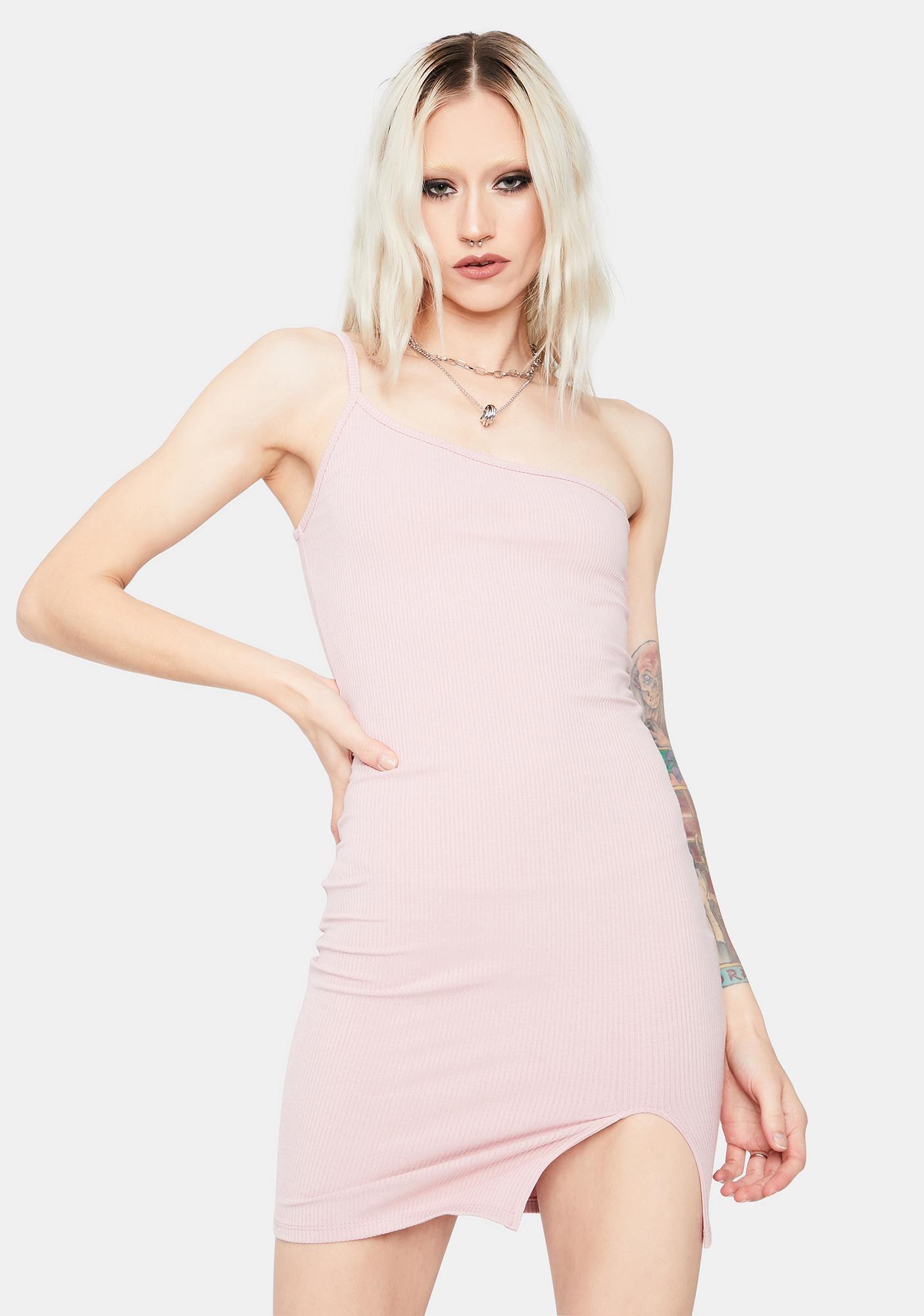 Blush Always Crushin' Bodycon Mini Dress