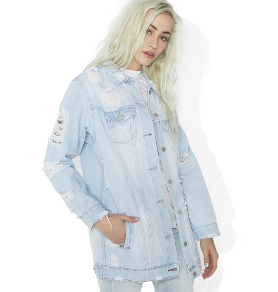 Livin' On A Prayer Denim Jacket