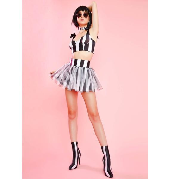 Sugar Thrillz Ghoul Please Tulle Skirt