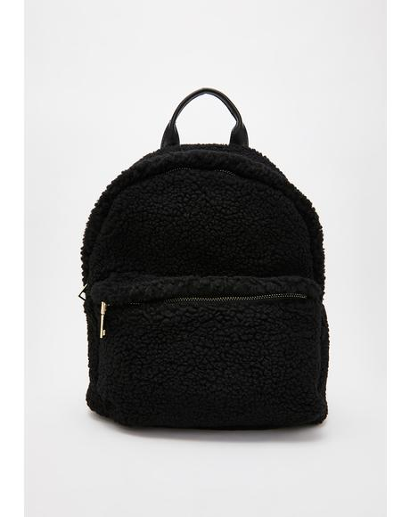 Wicked Fluff N' Tumble Sherpa Backpack