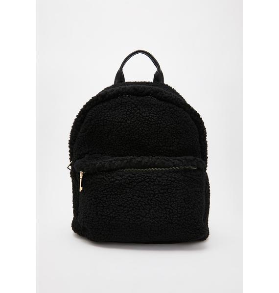 Wicked Fluff N' Tumble Sherpa Backpack