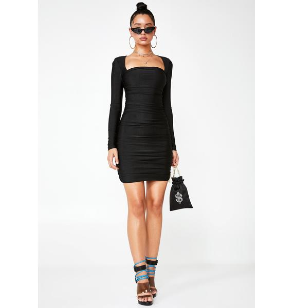 Tiger Mist Tully Ruched Dress