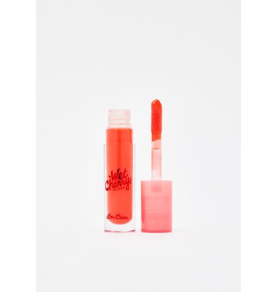 Lime Crime Flaming Cherry Wet Cherry Lip Gloss