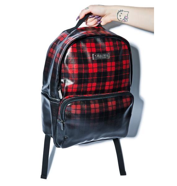 Killstar Tartan Backpack
