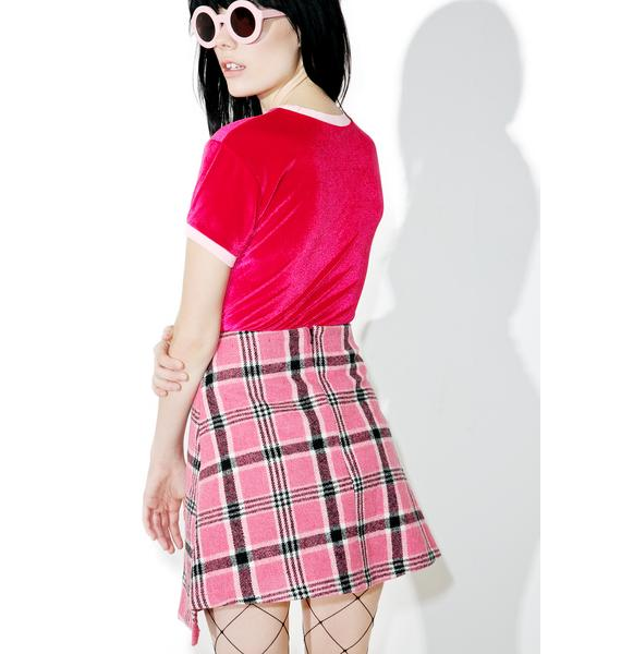 The Ragged Priest Silverstone Skirt