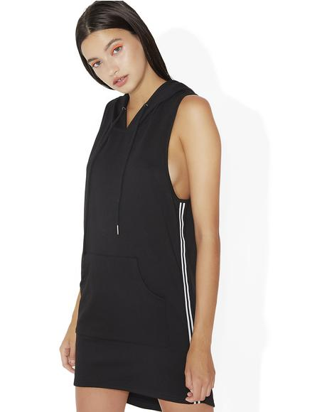 Penalty Shot Sleeveless Mini Dress