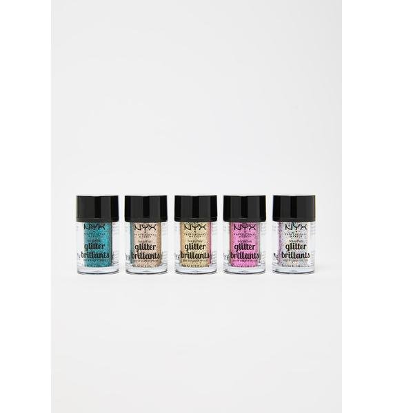 NYX Professional Makeup Love Lust Disco Glitter Vault Set
