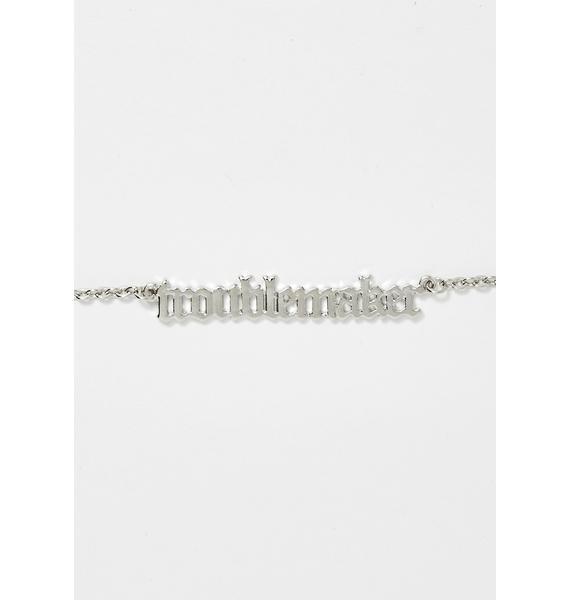 Causin' Mischief Chain Necklace