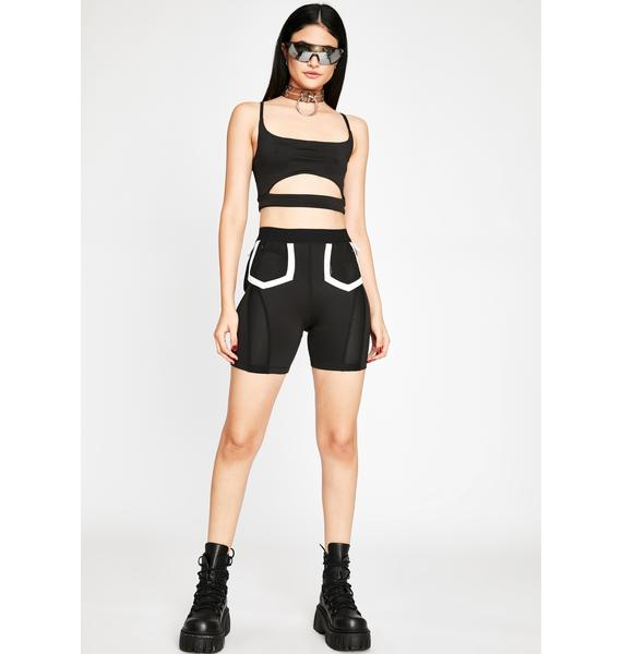 Command The Room Biker Shorts