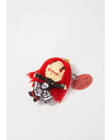Goth Girl Voodoo Doll