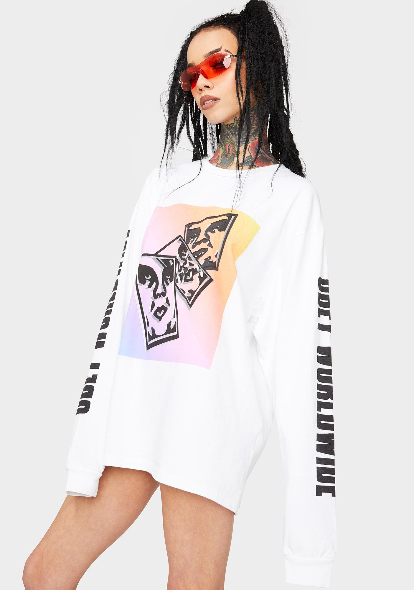 Obey Chaos N' Entropy Long Sleeve