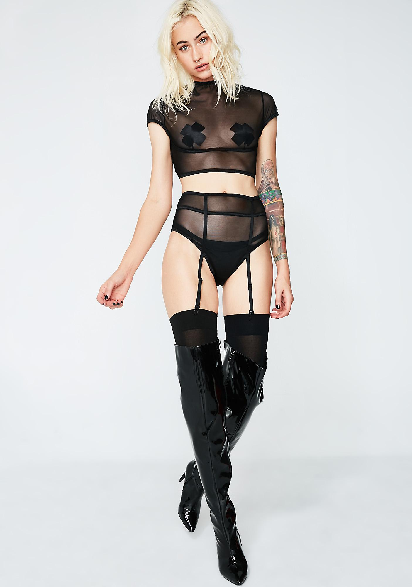 Fall In Lust Lingerie Set