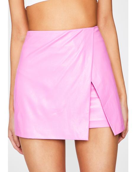 Bubblegum Superclass Sass Mini Skirt