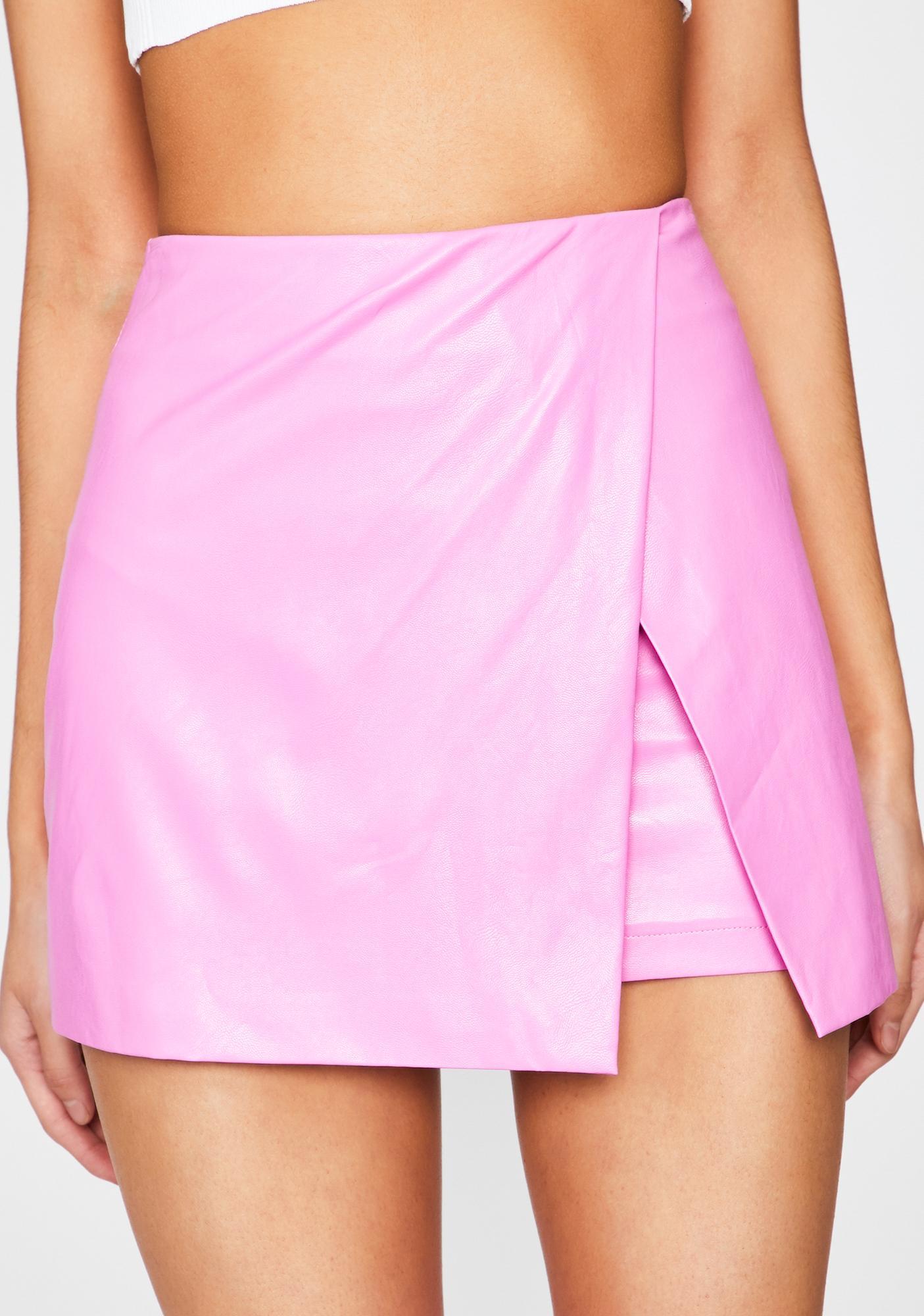 Bubblegum Superclass Sass Mini Skirt