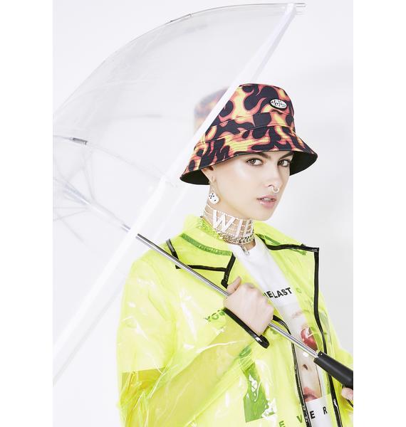 Acid Raindrops Light Up Umbrella