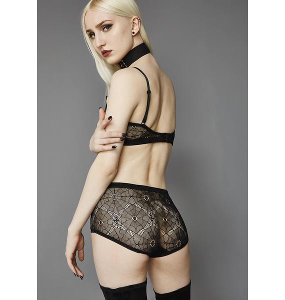 Widow Embrace Me Web Mesh Undies