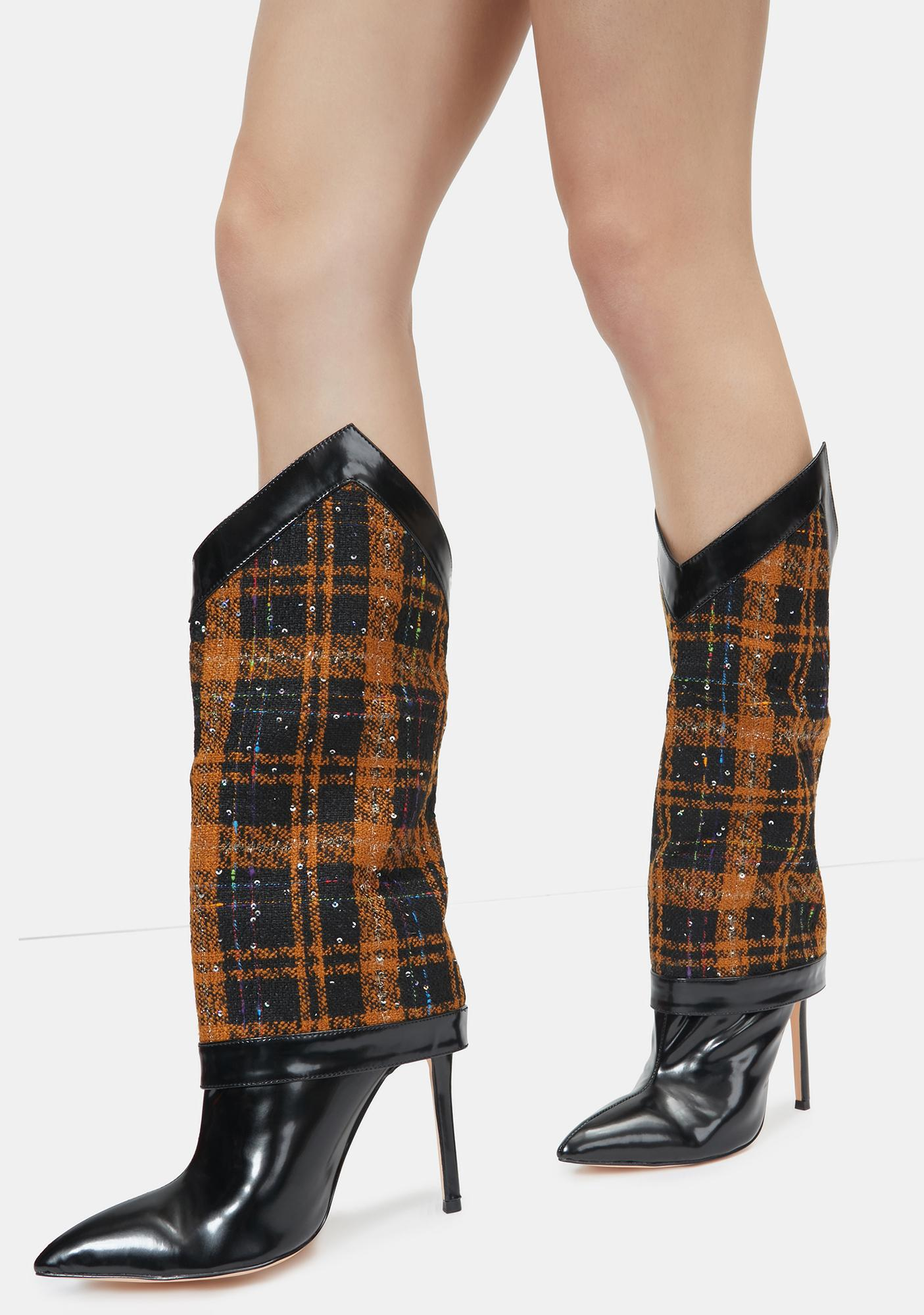 Lemon Drop by Privileged Katalina Knee High Boots