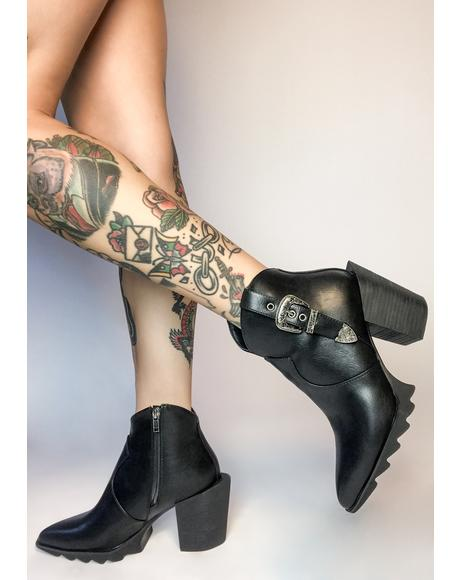 Catch The Flow Western Boots