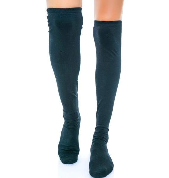 Zip Tuck Cotton Stocking