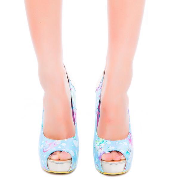 Iron Fist Lollipop Lorelei Peep Toe Platform