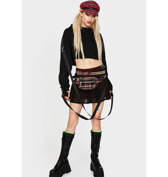 Current Mood Love Lost Mini Skirt