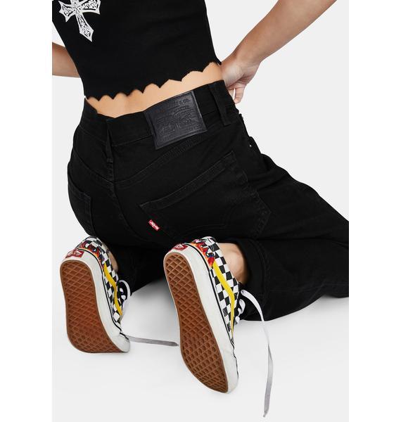 Levis Nightshine 511 Slim Leg Denim Jeans