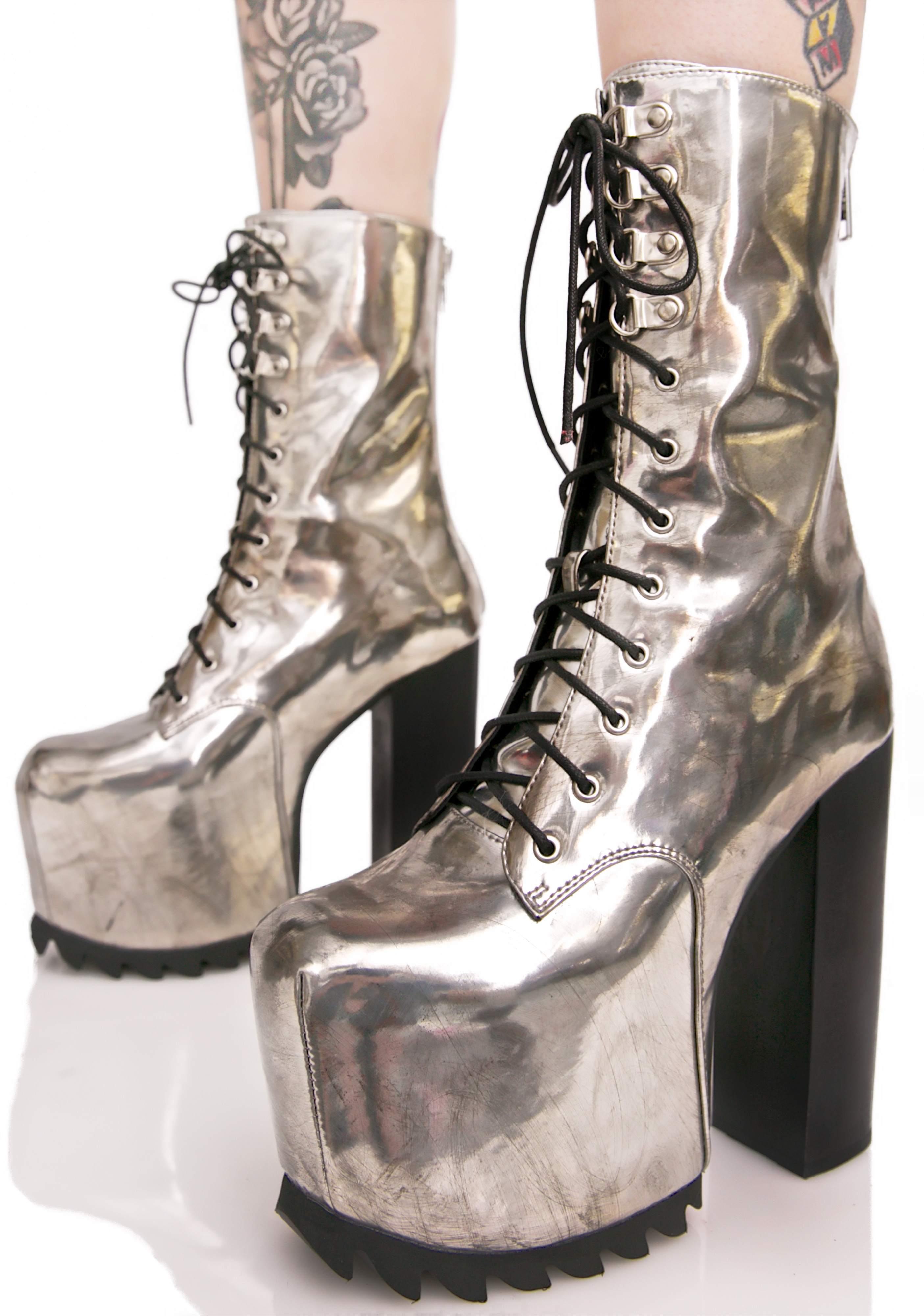 Current Mood Chromium Boots
