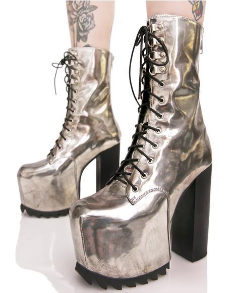 Chromium Boots