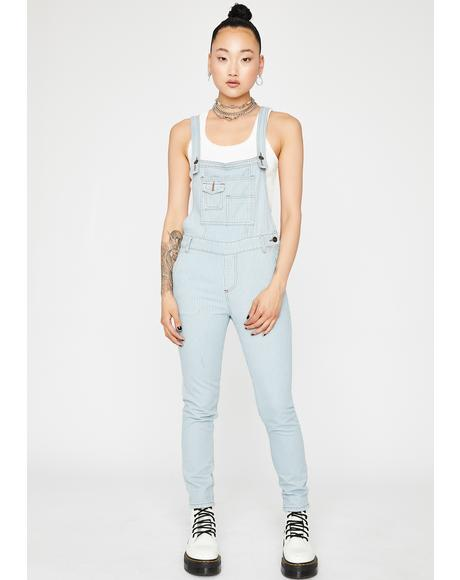 At Werk Denim Overalls