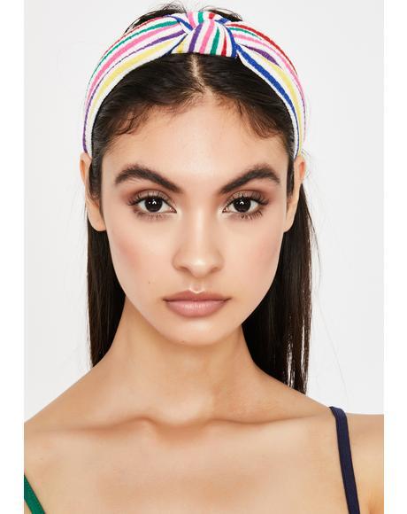 Summer Fab Striped Headband