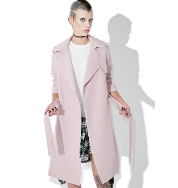 On My Mind Trench Coat