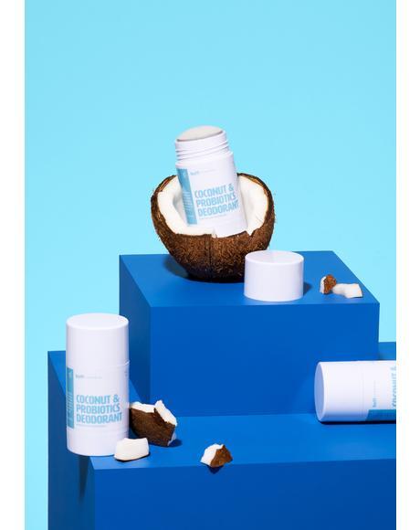 Coconut & Probiotics Deodorant