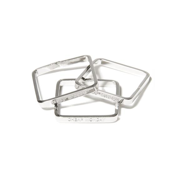 Cheap Monday Construct Rings