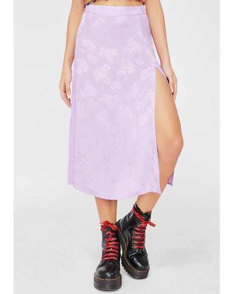 Lilac Rose Saika Skirt